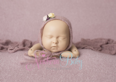 Dusky Pink Mohair Style Backdrop